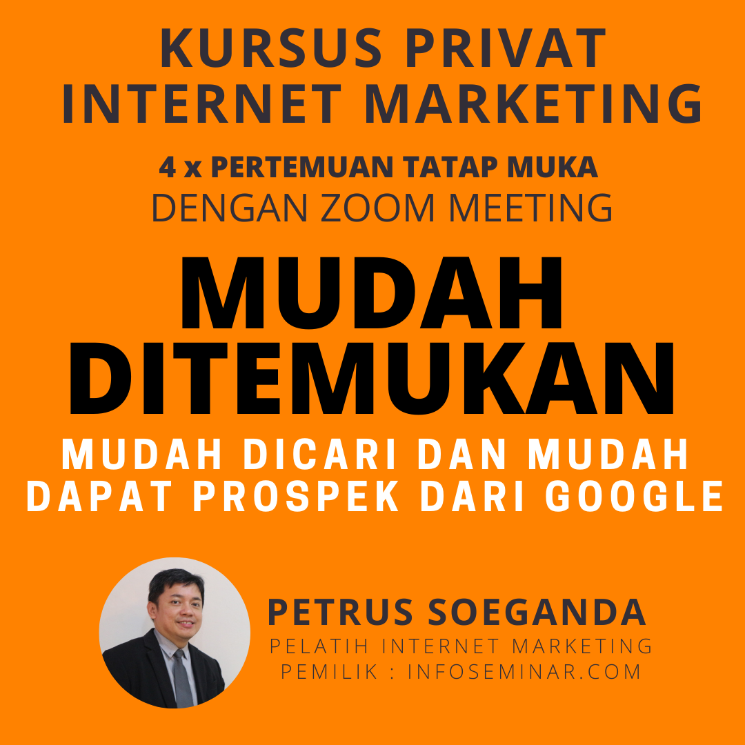 Belajar Privat Digital Marketing