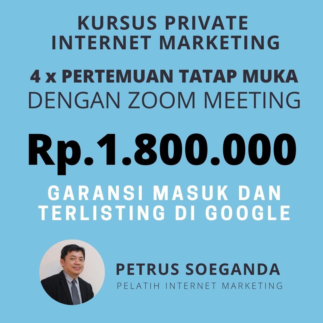 Belajar Privat Digital Marketing