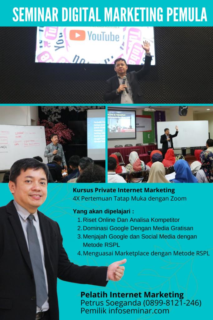 Seminar Digital Marketing Pemula