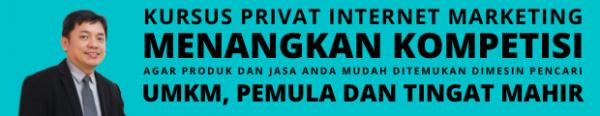 kursus privat internet marketing petrus soeganda