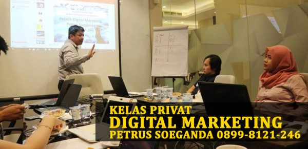 Kelas Privat Internet Marketing Petrus Soeganda