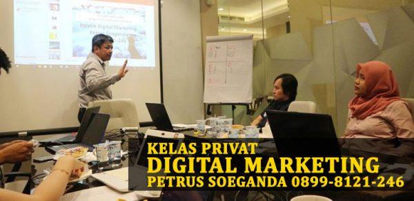 Kelas Privat Internet Marketing Petrus Soeganda